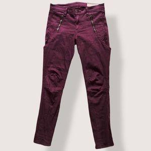 Rag & Bone Mulberry Zippered / Side Pocket - 27